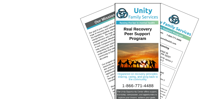 Unity Family Services Peer Support Program